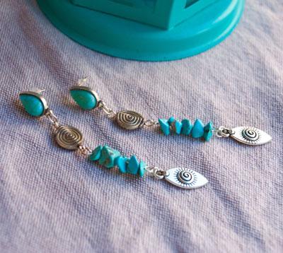 Jewellery in natural stones et minerals4