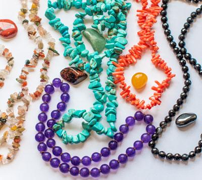 Jewellery in natural stones et minerals6
